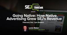 #SEJThinkTank: How Native Advertising Grew SEJ's Revenue