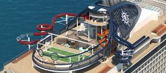 Take a photo tour of the hottest new cruise ship debuting in 2017, #cruise