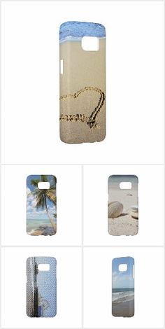 Beach themed Samsung Galaxy S7 Cases: Find beautiful and scenic beach themed Samsung Galaxy S7 Cases designed by Christine aka stine1 within this Zazzle Collection. It will feature my art and photos of the famous Santa Monica Pier in California and our Caribbean cruise. The Case-Mate Barely There Samsung Galaxy S7 Case is an impact-resistant plastic case that protects the back and sides of your phone and shows off the slim profile of your S7.