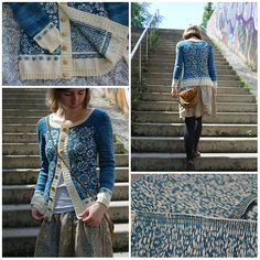 Ravelry: puenktchen's consequence Click the link to read the story of how this gorgeous cardigan came to be. Kudos!