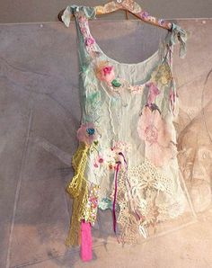 Hippie Baroque Fashion - These Beautiful Hand Embroidered Pieces by Paulina 722 are Whimsical (GALLERY)