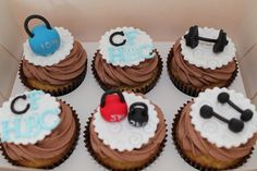 Cross Fit Cupcakes...very cool, Are they Paleo?