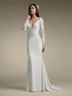 8b40159c6fd Gorgeous!!! Eva Lace Mermaid Gown