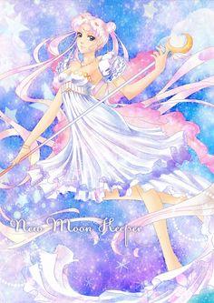 New Moon Keeper by kaminary-san on DeviantArt Sailor Moon Drops, Sailor Moon Stars, Sailor Chibi Moon, Sailor Moon Crystal, Princesa Serenity, Neo Queen Serenity, Millenium, Sailor Moom, Moon Princess