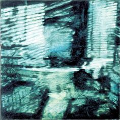 Risvegli 1992 oil on canvas cm. 90x90