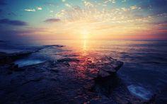 Beach Sunrise Panoramic Image