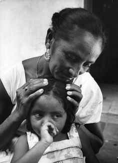 From the series by photographer Ken Heyman; these pictures are more than 50 years old but tell a story of mothers' love that spans the decades. Simply Beautiful!
