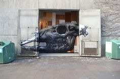 unurth   street art http://www.unurth.com/ROA-in-Stockholm-London-Vienna-Richmond-Katowice