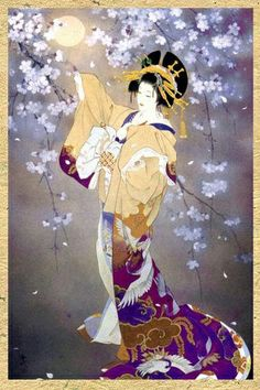 Photo reference inspiration for my geisha tattoo Haruyo Morita Geisha Kunst, Art Geisha, Japanese Artwork, Japanese Painting, Japanese Prints, Asian Artwork, Bild Tattoos, Art Asiatique, Art Japonais