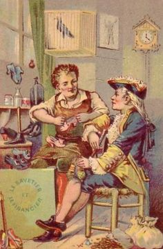Le Savetier et le Financier (fable de La Fontaine)