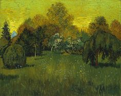 The Poet's Garden by Vincent Van Gogh