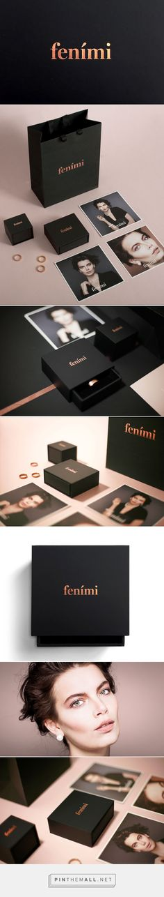 Fenimi Jewelry Branding by Ontwerpbureau Reiters - branding & identity - Jewelry Jewelry Packaging, Brand Packaging, Jewelry Branding, Packaging Design, Packaging Ideas, Corporate Design, Brand Identity Design, Corporate Identity, Design Agency