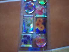 Puffy Flower Stickers