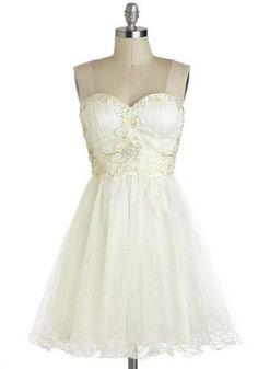 Marshmallow Whirl Dress     $79.99