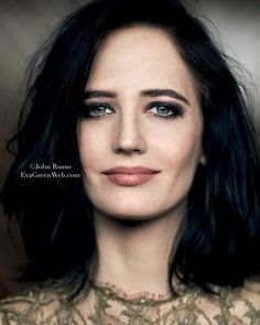 """""""To really get to know me, you need patience. And, above all, never tell me that I'm beautiful."""" - Eva Green on how to get to know her  #EvaGreen by ©John Russo #MissPeregrine's Home for Peculiar Children promotional shot for L'Officiel Russia (October 2016)"""