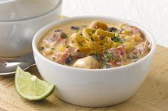 Santa Fe Chicken Enchilada Soup recipe