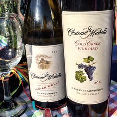 Concerts @Chateau Ste. Michelle with a bottle of #IndianWells #Chardonnay and #CabernetSauvignon