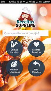 Receitas Supreme: miniatura da captura de tela