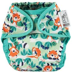 Close pop in nappy. Reusable cloth nappy with popper fastening. Close Pop In, Nappy Wraps, Disposable Nappies, Jungle Print, Twin Boys, Red Panda, Baby Wearing, Snug Fit, Diaper Bag