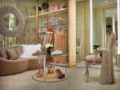 Designate A Dressing Room. The personal shopping suites of Bergdorf Goodman NYC. Interior Design: Rawlins Calderone.