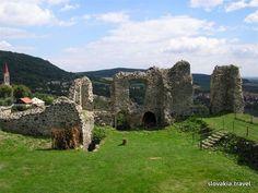 Slovakia, Blue stone - Castle