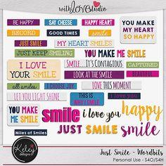 Just Smile Wordbits