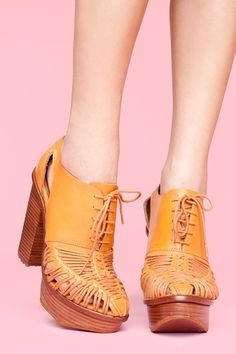 Summer oxfords. If I wore heels, these would be them.