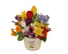 """""""Spring Fever"""" 1 - Aranjament cu flori artificiale"""