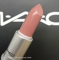 MAC Patisserie (Lustre)...a lovely, sheer, subtle everyday color that does not have the weird gray or brown tones that many 'nude' shades seem to have.
