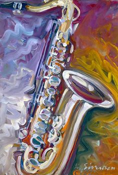 Safe Sax Music Canvas, Canvas Wall Art, Music Painting, Art Music, Jazz Art, Art Festival, Art Inspo, New Art, Cool Art