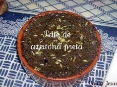 Receitas - Paté de azeitona preta - Petiscos.com