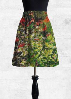 Lunas-196 - Cupro Skirt by Lunas boutique