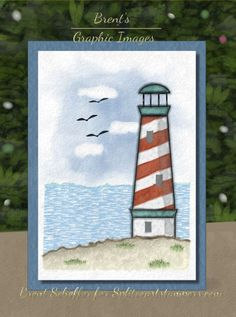 Red Stripes, Nautical Cards, Ink Wash, Pointillism, Basic Grey, Sky And Clouds, Beach Scenes, Petunias