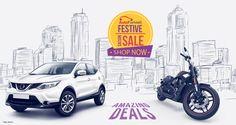 Festive Season Sale - Best Deals For Your Car & Bike! Buy best auto care products on best price on online automotive store Autofurnish #cars #bikes #sale #shopping #autoaccessories Shop Now http://www.autofurnish.com/