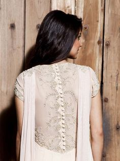Looking for latest back neck designs for kurtis? Here are 15 super stylish back neck patterns for you to try and stay in trend. Kurti Back Neck Designs, Salwar Suit Neck Designs, Kurti Sleeves Design, Neck Designs For Suits, Kurta Neck Design, Kurta Designs Women, Dress Neck Designs, Salwar Designs, Blouse Designs