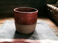 Ceramic Coffee/ Hot Cocoa Tumbler in Cedar by persimmonstreet
