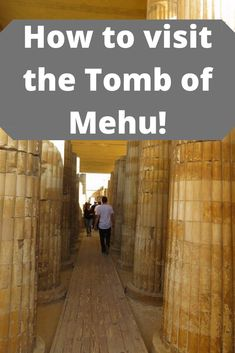 A guide to visiting the Tomb of Mehu. How to find it, how to see inside and everything else you might need to know. Places Around The World, Travel Around The World, Around The Worlds, Nature Photography Tips, Ocean Photography, Egypt News, Travel Advice, Travel Tips, Easy Day