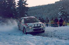 Kenneth Eriksson - Staffan Parmander 49th Network Q RAC Rally 1993 (Mitsubishi Lancer Evo I)