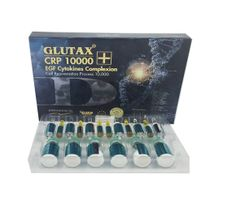Glutax CRP 10000 EGF Cytokines Complexion