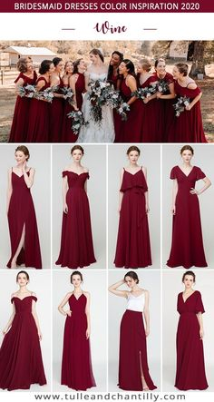 winewedding color ideas with bridesmaid dresses 2020 perfect fall wedding color winewedding color ideas with bridesmaid dresses 2020 perfect fall wedding color Fall Wedding Colors, Spring Wedding, Short Bridesmaid Dresses, Bridesmaids, Tulle Wedding, Wedding Dresses, Wedding Venue Inspiration, Space Wedding, Maid Of Honor