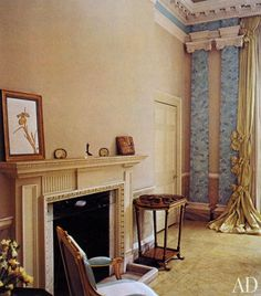 AD Revisits: Pauline de Rothschild's Secluded London Apartment, May-June 1977