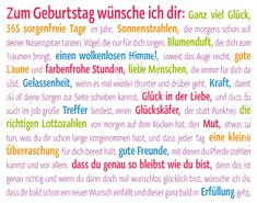 Zum Geburtstag - Midi Cards - Grafik Werkstatt Bielefeld