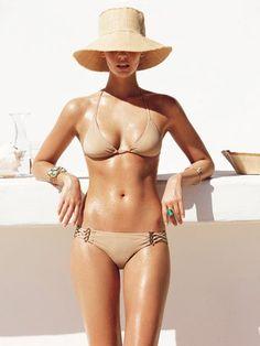 #nude #bikini #twopiece #hotbod #hat #trend #summer