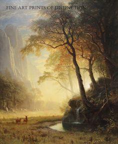 Hetch Hetchy Canyon by Albert Bierstadt