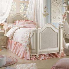 vintage pink furniture | Girly Vintage Pink Bed photo Martina Satoriova's photos - Buzznet