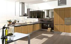 MK23: Modern Kitchen Cabinet