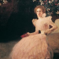 Gustav Klimt - Portrait of Sonja Knips (1889)
