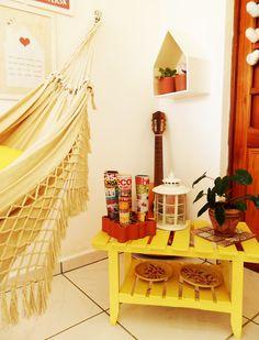 A minha varanda: Espaço pequeno e várias possibilidades - A Casa que a minha Vó queria