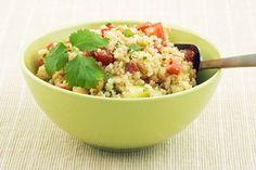 Tomato, Avocado, and Basil Quinoa Salad - http://blog.womenshealthmag.com/whexperts/quinoa-salad-recipe/