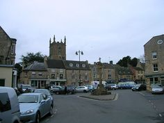 Market Square - Stow-on-the-Wold is a small market town & civil parish in Gloucestershire, England. It is situated on top of an 800 ft  hill, at the convergence of a number of major roads through the Cotswolds, including the Fosse Way. The town was founded as a planned market place by Norman lords to take advantage of trade on the converging roads. Fairs have been held by royal charter since 1330 & an annual horse fair is still held on the edge of the town.
